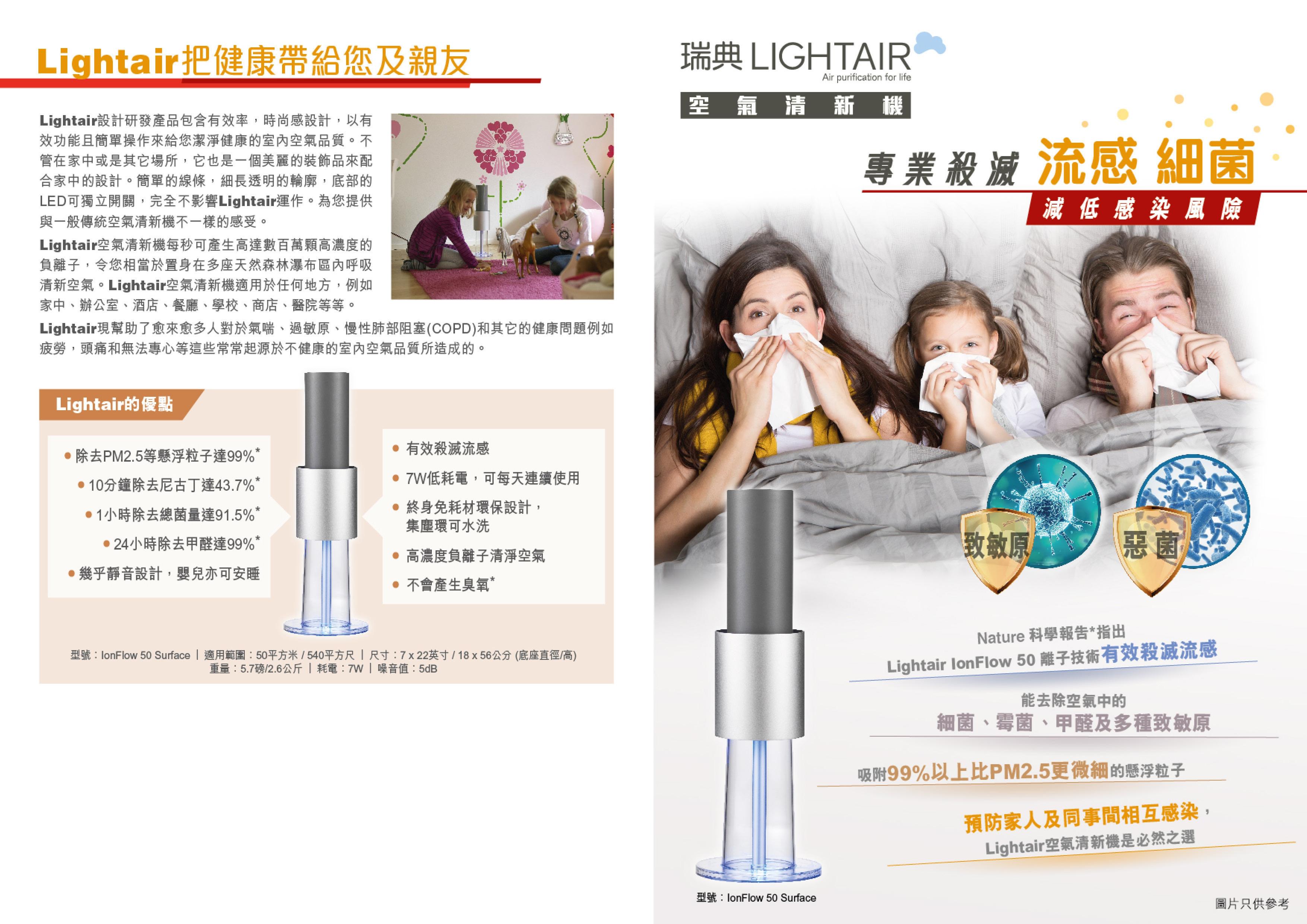 Lightair Leaflet